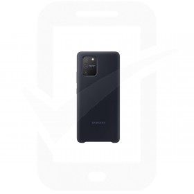 Official Samsung Galaxy S10 Lite SM-G770 Black Silicone Cover / Case - EF-PG770TBEGEU