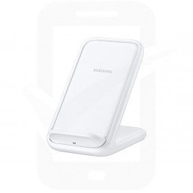 Official Samsung EP-N5200TWEGWW White 15W Qi Wireless Charger Pad with Main Charger - EU