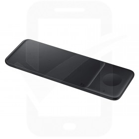 Official Samsung EP-P6300 Black Tri Qi Wireless Charger Pad with Mains Charger - UK