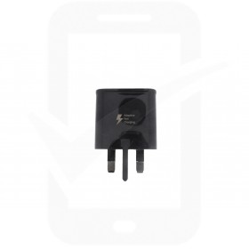 Official Samsung EP-TA20 2 Amp UK Fast Charging Adapter - Black