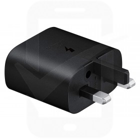 Official Samsung 25W USB-C Black Mains Charger - UK
