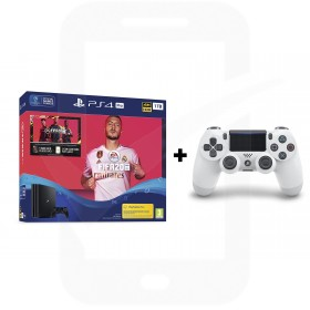 Sony PlayStation 4 Pro 1TB Console With FIFA 20 + Additional Glacier White Dualshock 4 Controller Promotion