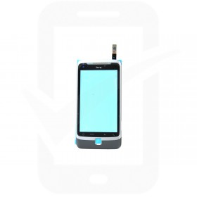 Genuine HTC Desire Z Touch Screen / Digitizer With Frame - 83H00317-00 / 74H01754-00M