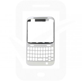 Genuine HTC ChaCha Silver Front Cover - 74H01993-00M