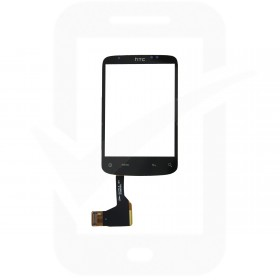 Genuine HTC Wildfire Black Digitizer / Touchscreen - 83H00289-00