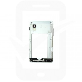 Genuine LG Optimus L4 II E440 Black Chassis / Middle Cover - ACQ86397402