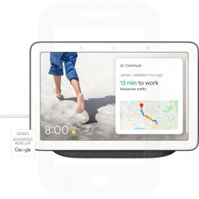 Google Home Hub - GB - Anthracite / Charcoal
