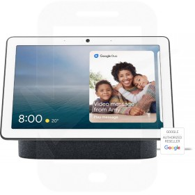"""Google Nest Hub Max with Google Assistant - 10"""" Screen - Charcoal"""