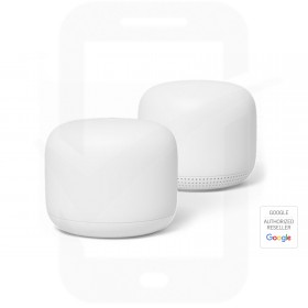 Google Nest Wi-Fi - 2-Pack Router & Point - White