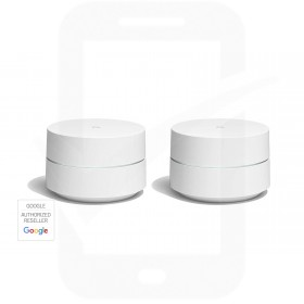 Google Wi-Fi Whole Home System - 2-Pack - White