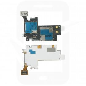 Genuine Samsung Galaxy Note 2 N7100 Sim / Memory Card Reader - GH59-12688A