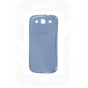 Genuine Samsung Galaxy S3 i9300 Pebble Blue Battery Cover - GH98-23340A
