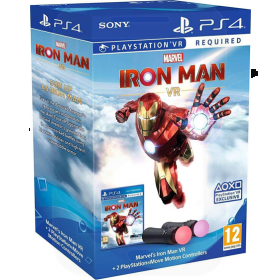 Sony PlayStation VR Marvels Iron Man Move Controller Bundle