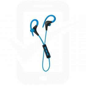 Official KitSound Race Blue In-Ear Bluetooth Headphones  - KSRACBL