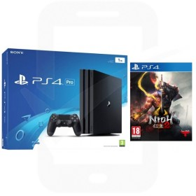 Sony PlayStation 4 Pro 1TB Black Console with Nioh 2