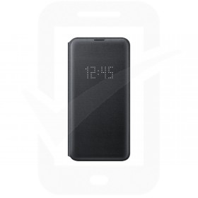Official Samsung Galaxy S10e Black LED Flip Wallet / Case - EF-NG970PBEGWW