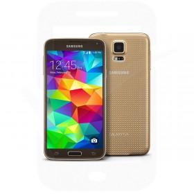 Samsung Galaxy S5 G900 16GB Gold Sim Free / Unlocked Mobile Phone - B-Grade