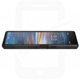 Official Sony Xperia 10 Black Style Solid Cover / Case - SCBI10
