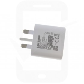 Official Samsung EP-TA800 25W UK USB Type C Mains Charger - White