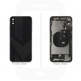 Official Apple iPhone XS Max Black Battery Cover (OEM Pulled)