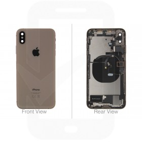 Official Apple iPhone XS Max Gold Battery Cover (OEM Pulled)