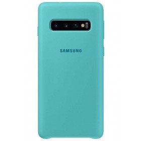 Official Samsung Galaxy S10 Green Silicone Cover / Case - EF-PG973TGEGWW