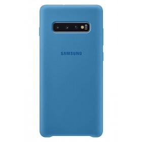 Official Samsung Galaxy S10 Plus Blue Silicone Cover / Case - EF-PG975TLEGWW