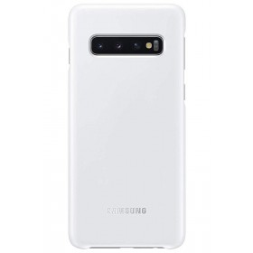 Official Samsung Galaxy S10 Plus White NFC Powered Back Cover / Case - EF-KG975CWEGWW