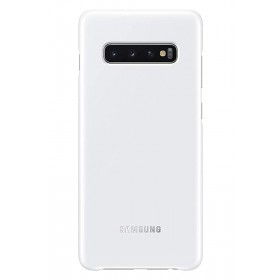 Official Samsung Galaxy S10 White NFC Powered Back Cover / Case - EF-KG973CWEGWW