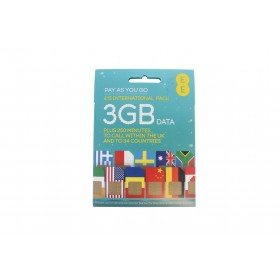 EE £15 International Pre Pay SIM Card