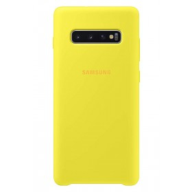 Official Samsung Galaxy S10 Yellow Silicone Cover / Case - EF-PG973TYEGWW