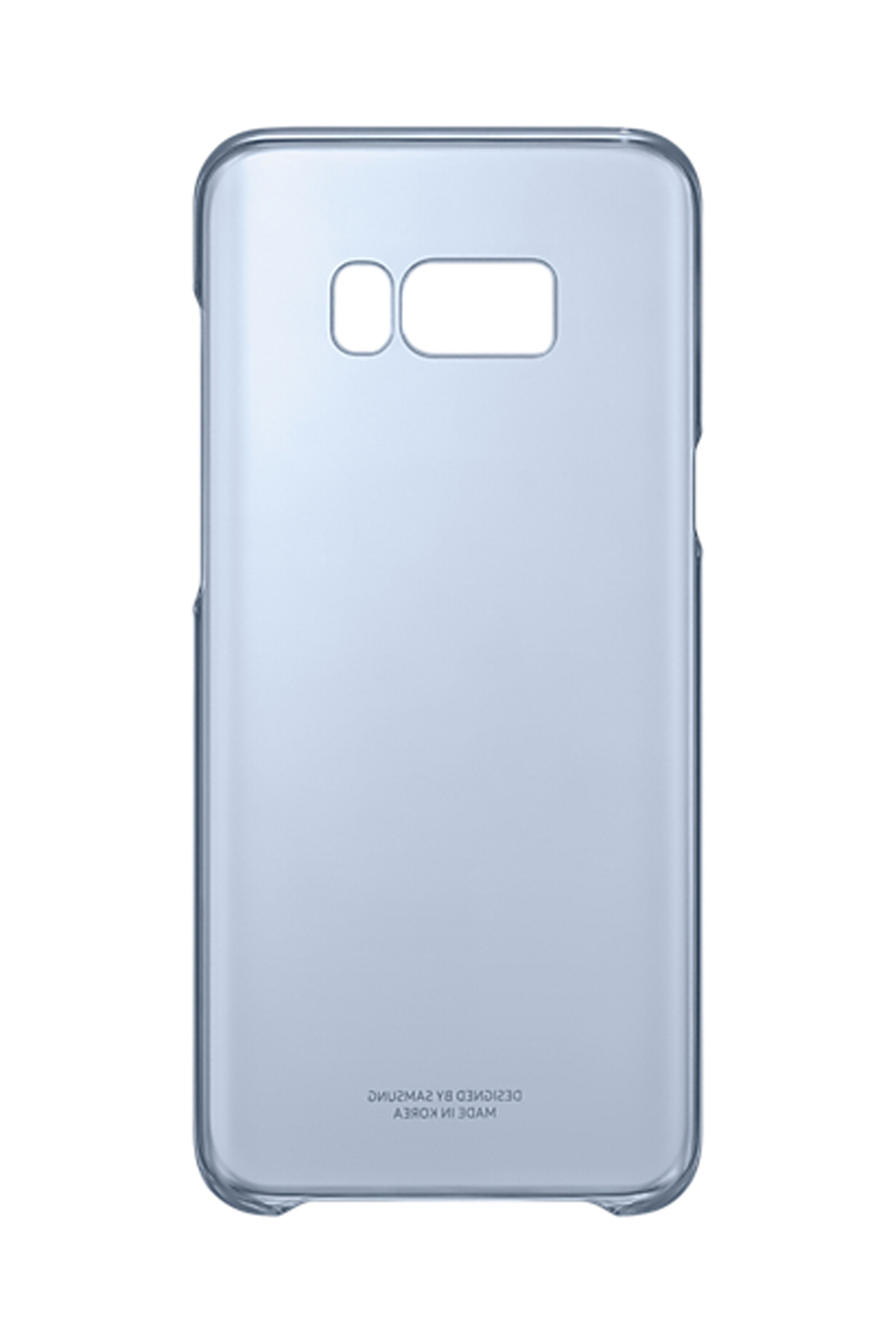 big sale c3d01 660c3 Details about Official Samsung Galaxy S8+ Blue Clear Cover - EF-QG955CLEGWW