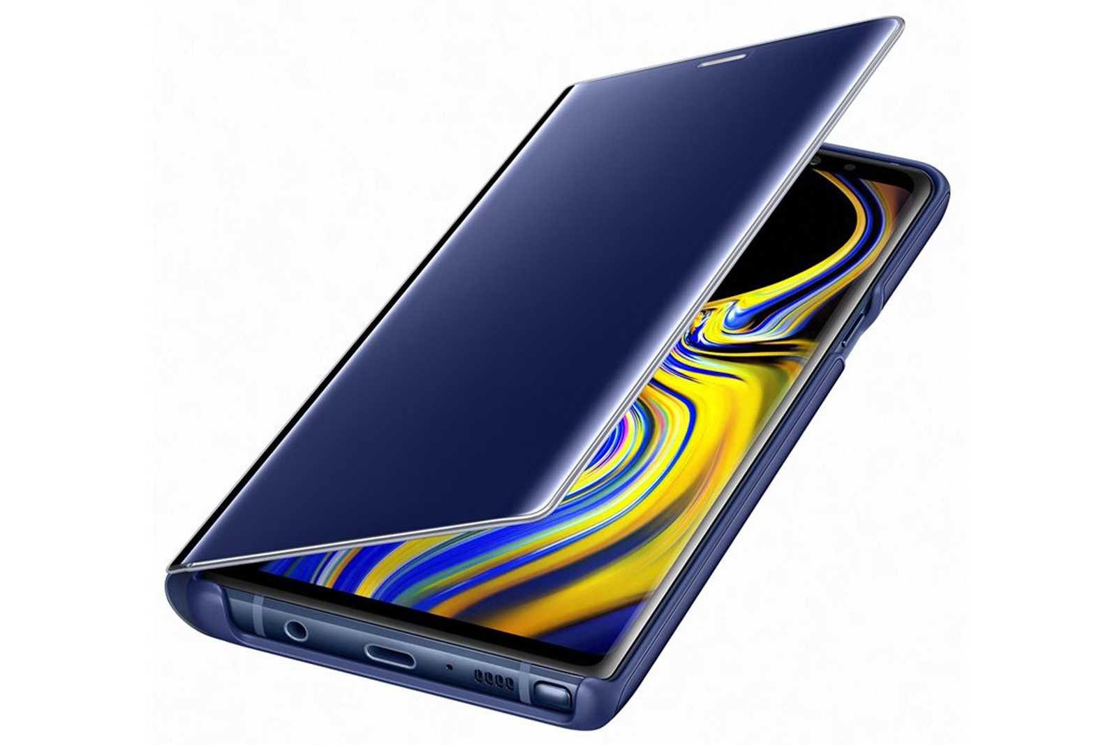 buy popular cbcd2 c2b66 Details about Official Samsung Galaxy Note 9 Blue Clear View Cover / Case -  EF-ZN960CLEGWW