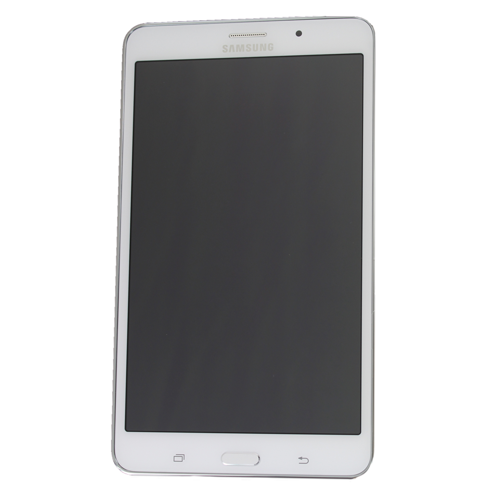 genuine samsung galaxy t235 lte tab 4 7 0 white lcd screen. Black Bedroom Furniture Sets. Home Design Ideas
