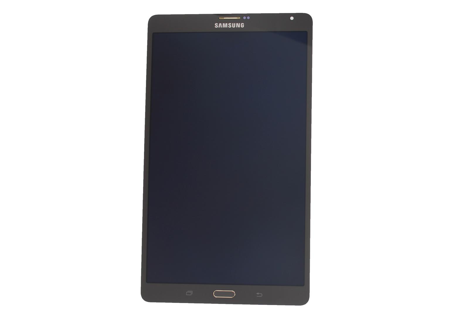 genuine samsung galaxy tab s 8 4 lte sm t705 bronze lcd. Black Bedroom Furniture Sets. Home Design Ideas