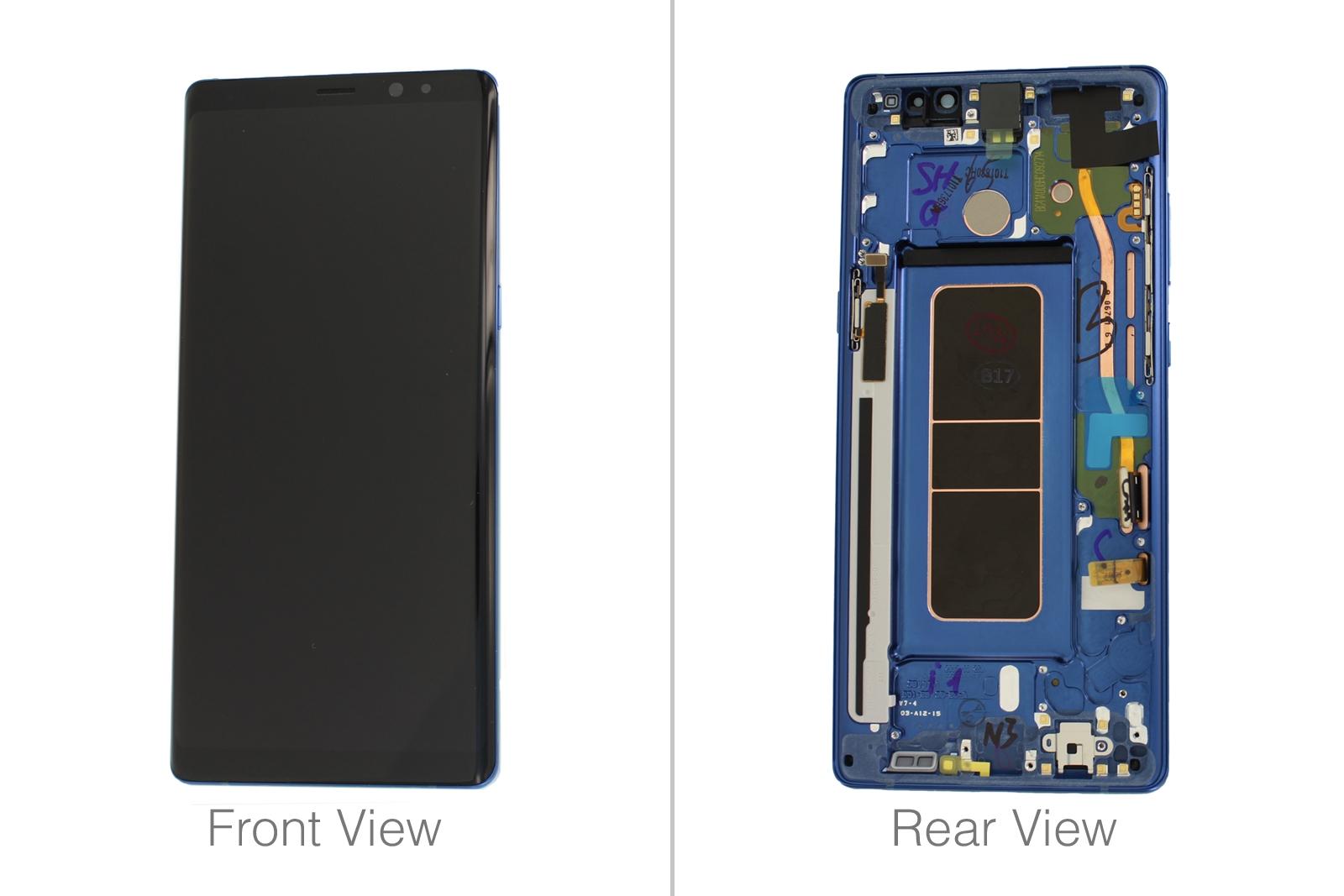 Genuine Note - Gh97-21065b N950 8 Lcd Galaxy Samsung About Digitizer amp; Blue Screen Details