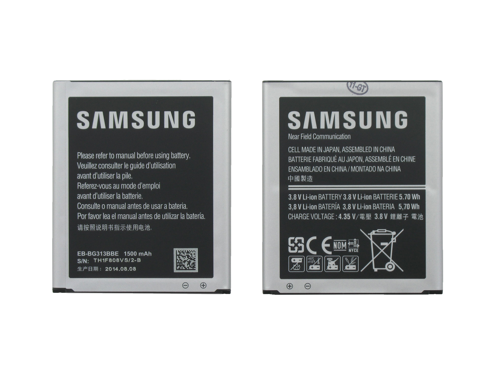 Samsung Baterai Galaxy V Sm G313hz Ace Iii 1500 Mah 3 8v Original Hippo G313 2000mah Batre Batrai Hp Source Description