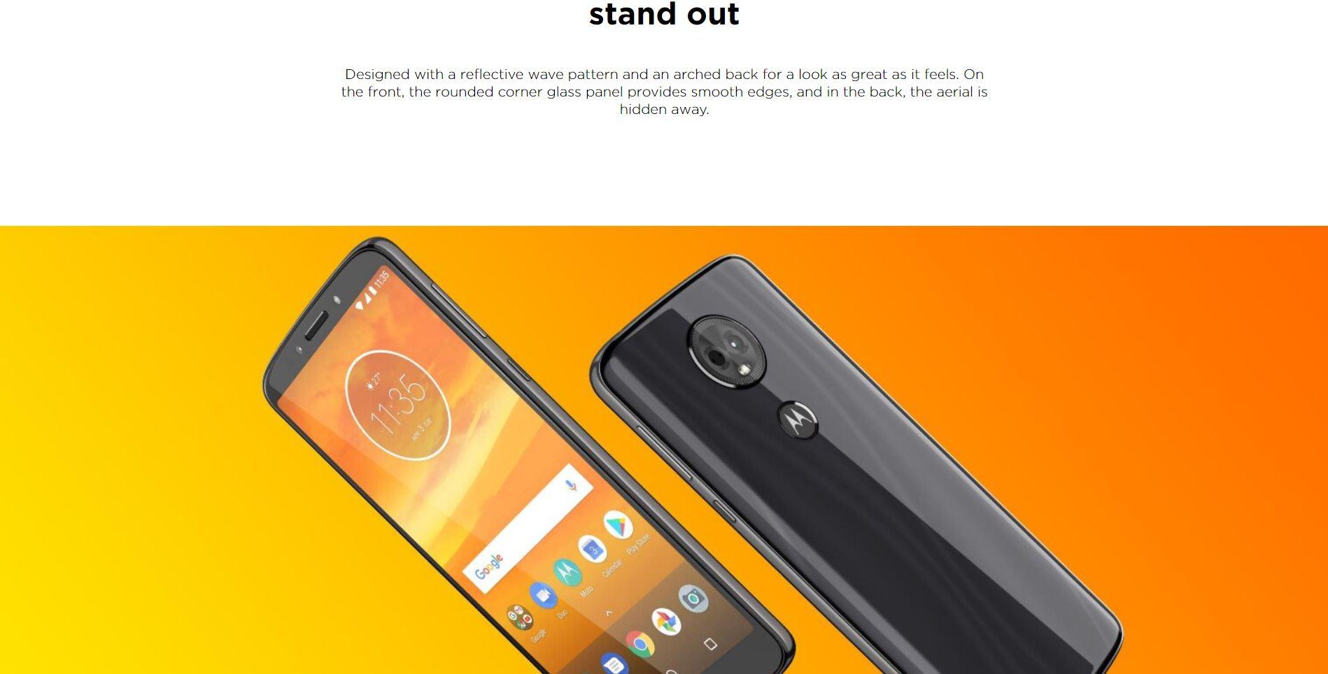 Motorola Moto E5 Plus 16GB Sim Free / Unlocked Mobile Phone