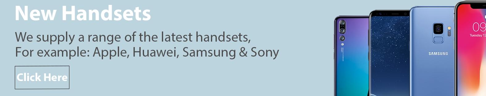 new handset banner