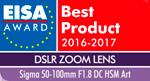 EUROPEAN-DSLR-ZOOM-LENS-2016-2017---Sigma-50-100mm-F1