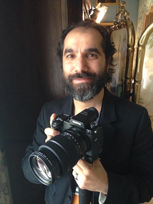 Serkan Günes oli pohjoismaissa ensimmäinen valokuvaaja, joka sai Fujifilm GFX 50S -kameran kokeiltavakseen ennen sen virallista julkistamista. Hänen erikoisalaansa on maisemakuvaus, jossa suuren tiedoston kamera ja sen säänkestävyys ovat tarpeeseen. Kuva: Timo Ripatti