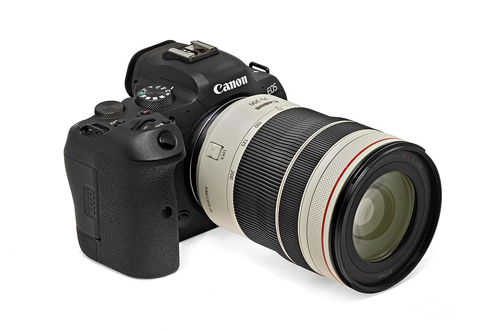 objektiivitesti - Canon RF 70–200 F4L IS USM