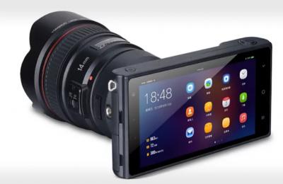 Yungnuo naittoi Android-puhelimen ja peilittömän 4/3-järjestelmäkameran