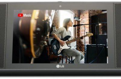 LG esitteli näytöllisen älykaiuttimen – tukee Google Assistant -puheohjausta