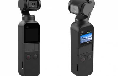DJI esitteli taskukokoisen 4k-videokameran kolmiakselisella gimbaalilla