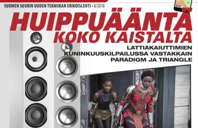 Uusi AVPlus 8/2018 -lehti on ilmestynyt – mukana muun muassa tukeva annos hifiä, lahjavinkkejä ja kuulokkeita kaikkeen makuun