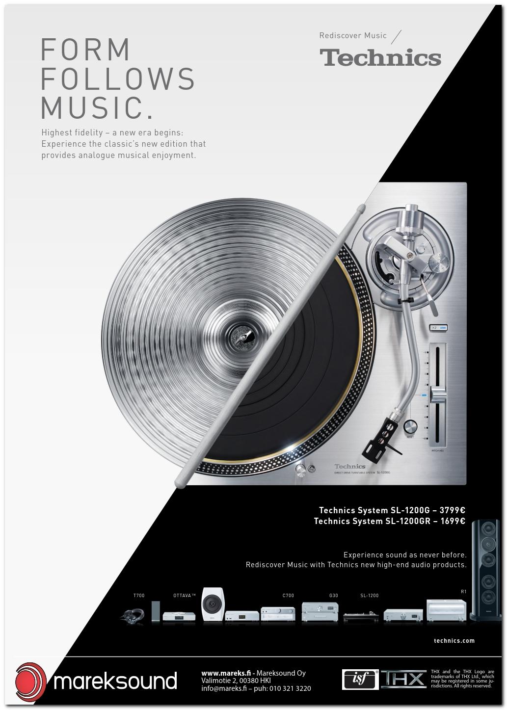 ILMOITUS: Mareksound & Technics