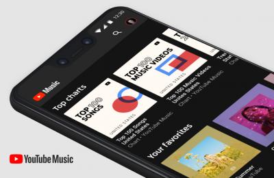 Youtube Music -palveluun tuli viisi erilaista top-listaa ja taajuuskorjain