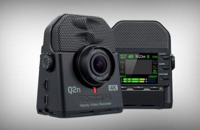 Zoom yhdisti 4k-videokameran ja äänitallentimen – sopii muun muassa keikkojen tallennukseen ja vloggaukseen