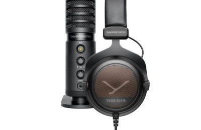 Beyerdynamicilta kuulokkeet ja mikrofonin sisältävä paketti pelaajille – myös podcast-käyttöön